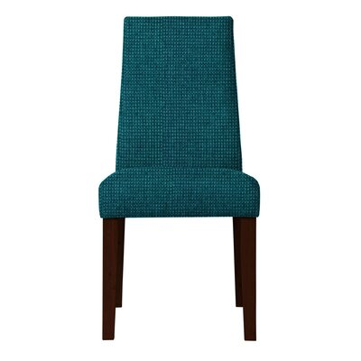 Haddonfield Hardwood Frame Parsons Chair (Set of 2) Upholstery: Teal