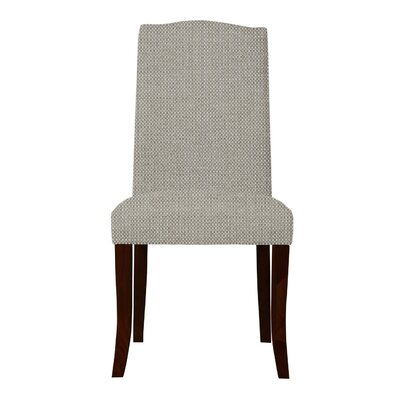 Guttenberg Solid Back Parsons Chair Upholstery: Light Gray