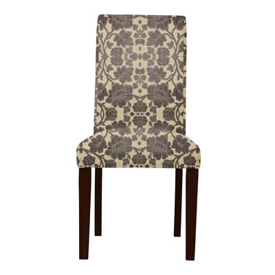 Lattimore Beige/Brown Upholstered Parsons Chair