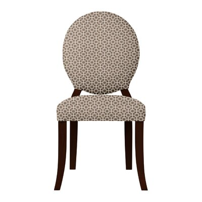 Lashley Solid Back Side Chair Upholstery: Brown