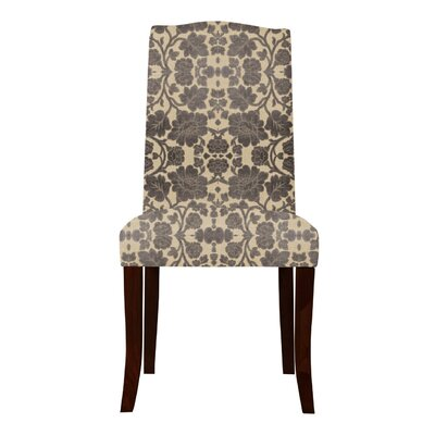 Lasseter Back Floral Parsons Chair (Set of 2)