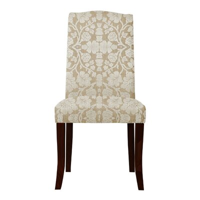 Lasseter White Floral Parsons Chair