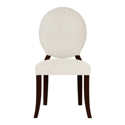 Lashley White/Brown Side Chair