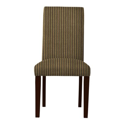 Beachwood Vertical Stripes Parsons Chair