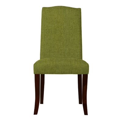 Guttenberg Solid Back Parsons Chair Upholstery: Green
