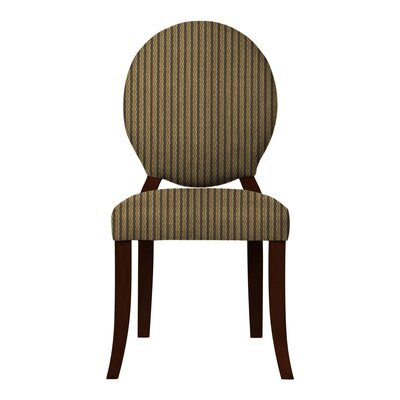 Lashley Stripe-Print Side Chair