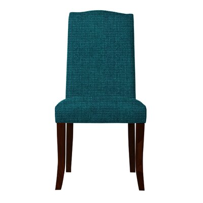Guttenberg Solid Back Parsons Chair Upholstery: Teal