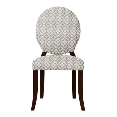 Lashley Solid Back Side Chair Upholstery: Gray