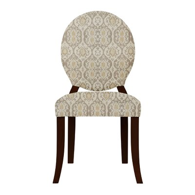 Lashley Damask Upholstered Side Chair