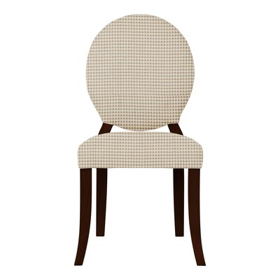 Lashley Solid Back Upholstered Side Chair (Set of 2) Upholstery: Orange