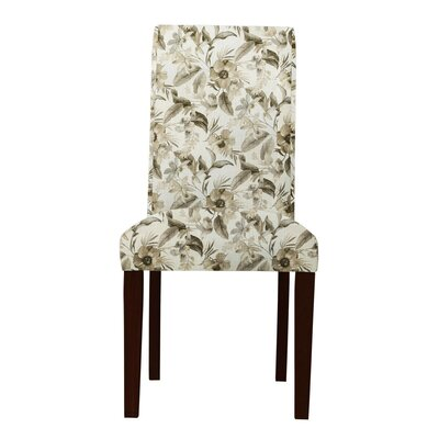 Lattimore Cotton Fabric Parsons Chair