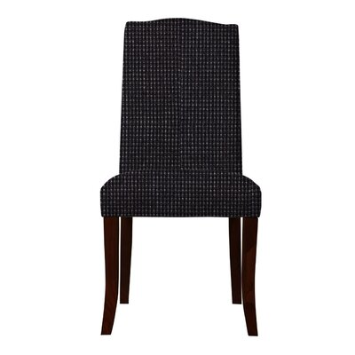 Guttenberg Solid Back Parsons Chair (Set of 2) Upholstery: Black