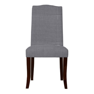 Guttenberg Cotton Parsons Chair Upholstery: Dark Gray