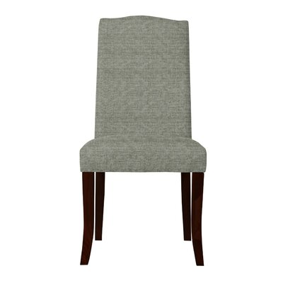 Guttenberg Solid Back Upholstered Parsons Chair Upholstery: Gray