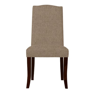 Guttenberg Straight Legs Parsons Chair (Set of 2) Upholstery: Tan