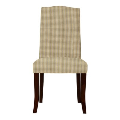 Lasseter Caro Parsons Chair (Set of 2) Upholstery: Orange