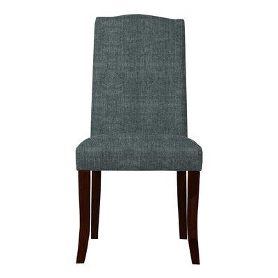 Guttenberg Wood Legs Parsons Chair Upholstery: Gray