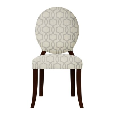 Lashley Beige/Gray Side Chair (Set of 2)