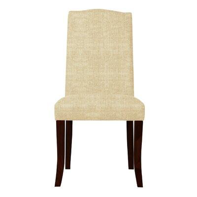 Guttenberg Wood Legs Parsons Chair (Set of 2) Upholstery: Beige