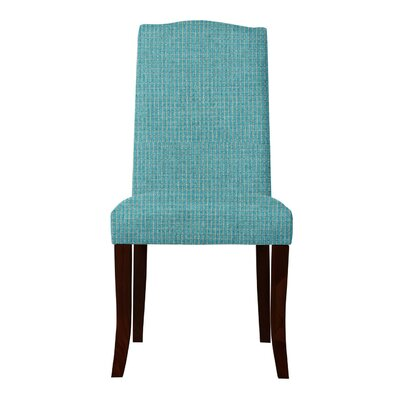 Guttenberg Solid Back Parsons Chair Upholstery: Light Blue