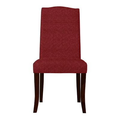 Guttenberg Solid Back Upholstered Parsons Chair Upholstery: Red