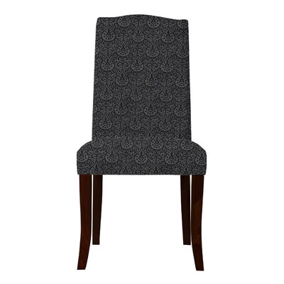 Lasseter Parsons Chair (Set of 2) Upholstery: Black
