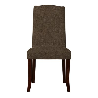 Guttenberg Straight Legs Parsons Chair Upholstery: Brown