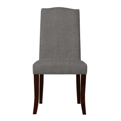 Guttenberg Wood Legs Parsons Chair Upholstery: Gray