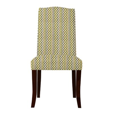 Guttenberg Mesh Parsons Chair Upholstery: Yellow/Gray