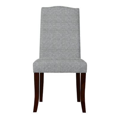 Guttenberg Solid Back Upholstered Parsons Chair (Set of 2) Upholstery: Light Gray