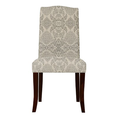 Lasseter Beige/Gray Upholstered Parsons Chair