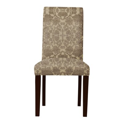 Lattimore Brown/Beige Upholstered Parsons Chair