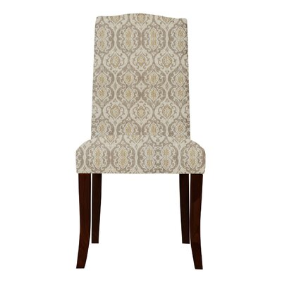 Lasseter Beige/Gray Fabric Parsons Chair