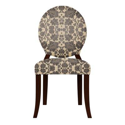 Lashley Black Flowers Side Chair (Set of 2)