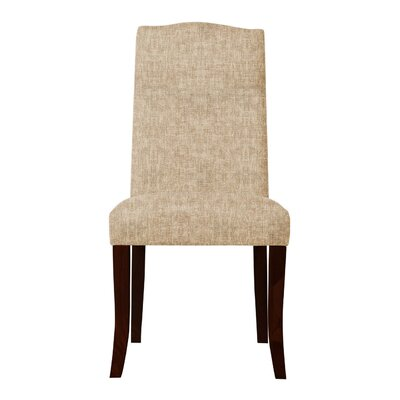 Guttenberg  Upholstered Parsons Chair Upholstery: Beige