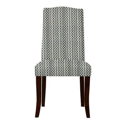 Guttenberg Mesh Parsons Chair Upholstery: Gray/Black