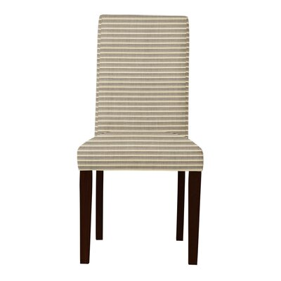 Beachwood Horizontal Stripes Parsons Chair