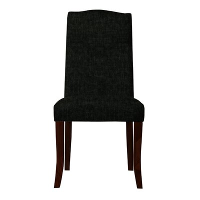Guttenberg  Upholstered Parsons Chair Upholstery: Black