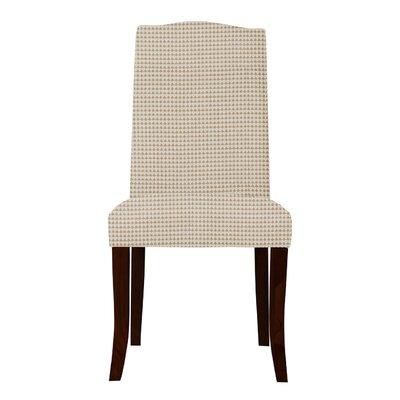 Guttenberg Cotton Parsons Chair (Set of 2) Upholstery: Orange