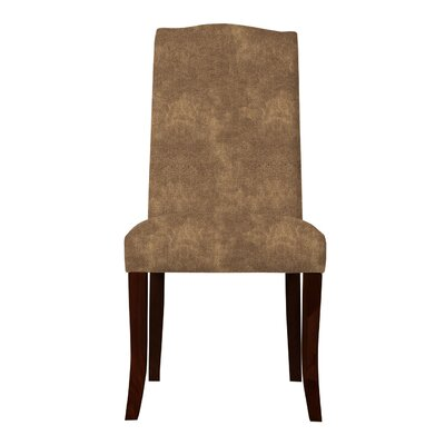 Guttenberg Parsons Chair (Set of 2) Upholstery: Brown