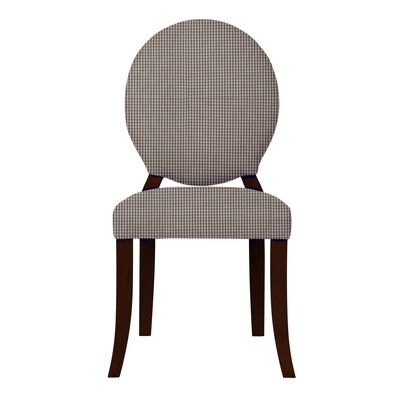 Lashley Cotton Side Chair Upholstery: Dark Gray
