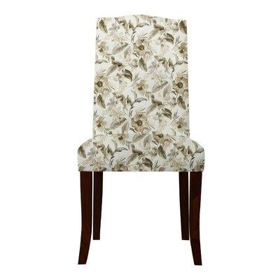 Lasseter Beige Floral Parsons Chair