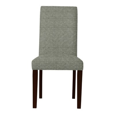 Beachwood Parsons Chair (Set of 2) Upholstery: Gray