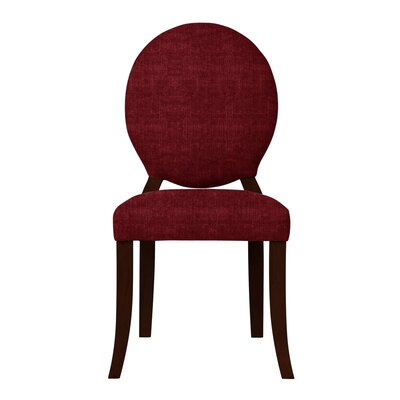 Lashley Upholstered Side Chair Upholstery: Red