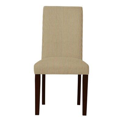 Beachwood Caro Parsons Chair Upholstery: Orange