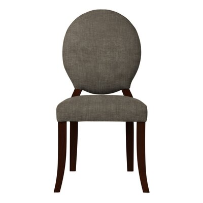 Lashley Solid Upholstered Side Chair (Set of 2) Upholstery: Gray