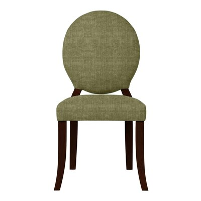 Lashley Upholstered Side Chair (Set of 2) Upholstery: Green