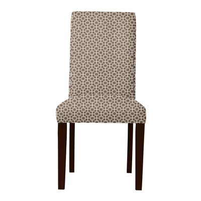 Beachwood Square Intertwined Parsons Chair Upholstery: Brown