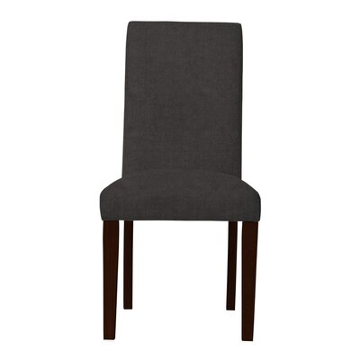 Beachwood Straight Leg Parsons Chair Upholstery: Dark Gray
