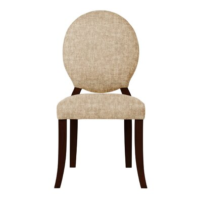 Lashley Curved Legs Side Chair (Set of 2) Upholstery: Beige
